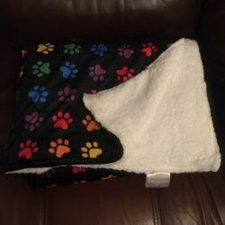 Rainbow Paw Blanket