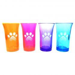 Sunset Paw Shot Glasses