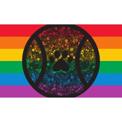 Full Rainbow Puppy Pride Flag 2020