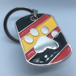 Rubber Paw Keyring